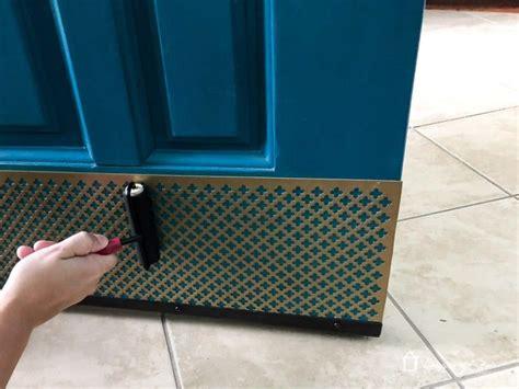 Diy-Door-Kick-Plate