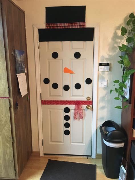 Diy-Door-Snowman