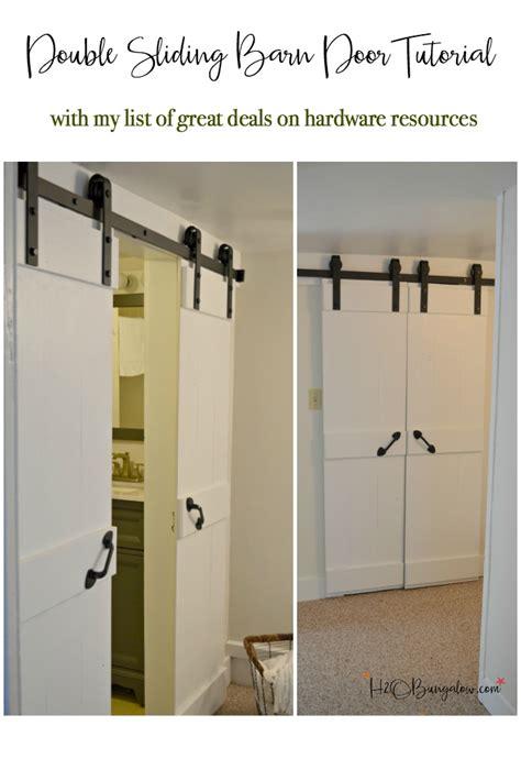 Diy-Double-Barn-Door-Hardware