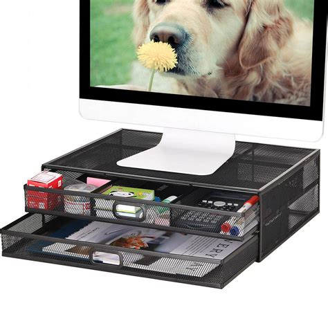 Diy-Double-Laptop-Stand-With-Wire-Shelf