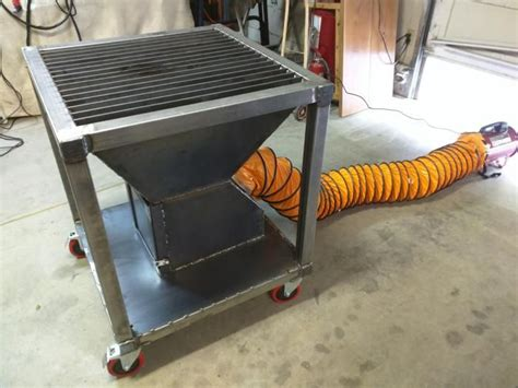 Diy-Downdraft-Welding-Table