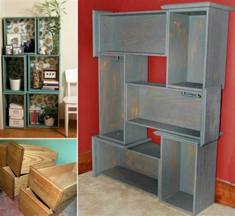 Diy-Drawers-Into-Shelves