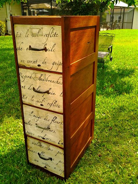 Diy-Dresser-Covering-With-Metal