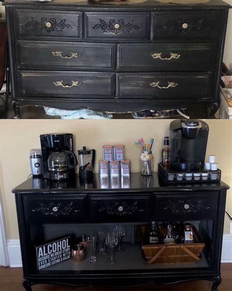 Diy-Dresser-Into-A-Coffee-Bar