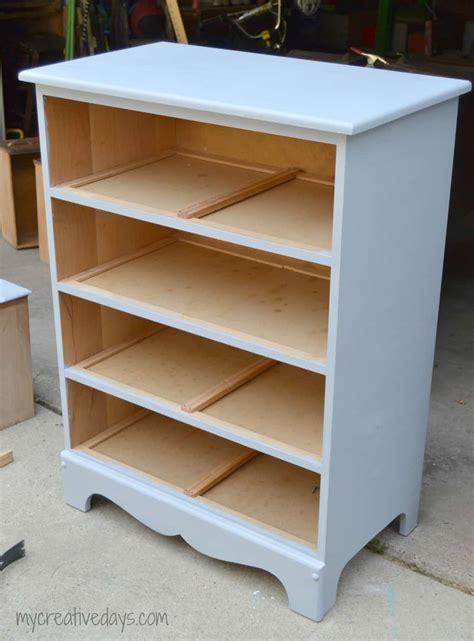 Diy-Dresser-Into-Bookshelf