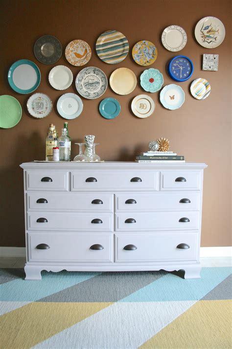 Diy-Dresser-Makeover-With-Wallpaper