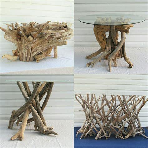 Diy-Driftwood-Base-Table