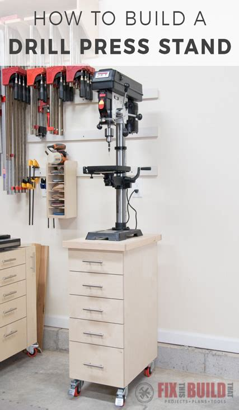 Diy-Drill-Press-Stand-Plans