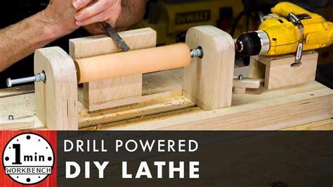 Diy-Drill-Wood-Lathe