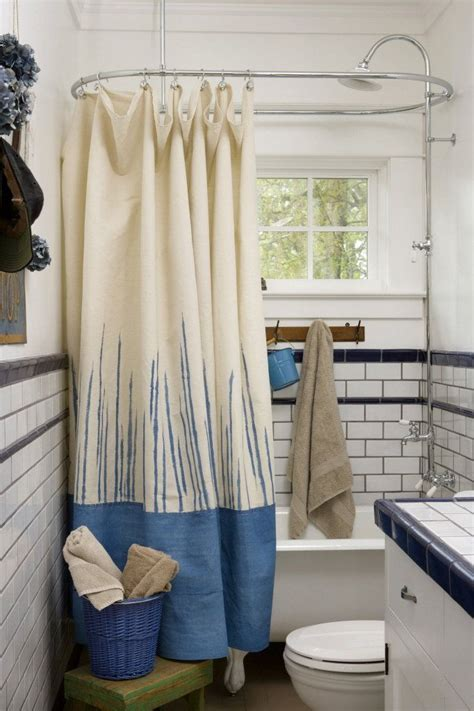 Diy-Drop-Cloth-Shower-Curtain