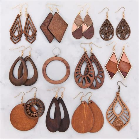 Diy-Earring-Wood-With-Crystal