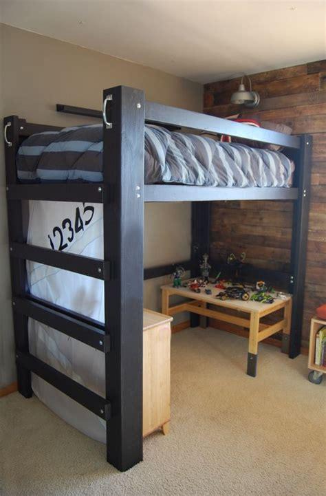 Diy-Easy-Cheap-Loft-Bed-Frame