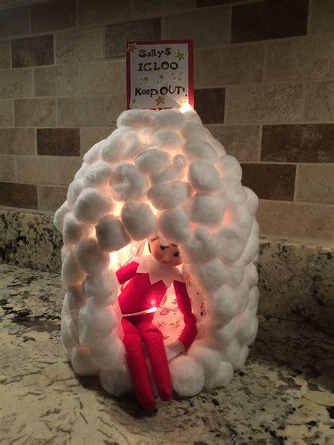 Diy-Elf-On-The-Shelf-Igloo
