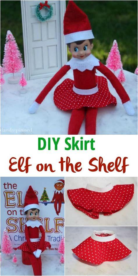 Diy-Elf-On-The-Shelf-Skirt