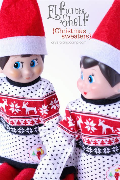 Diy-Elf-On-The-Shelf-Sweater