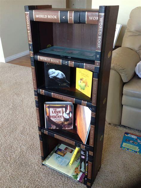 Diy-Encyclopedia-Bookcase