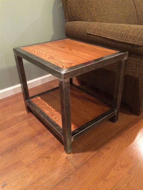 Diy-End-Table-Metal-Base