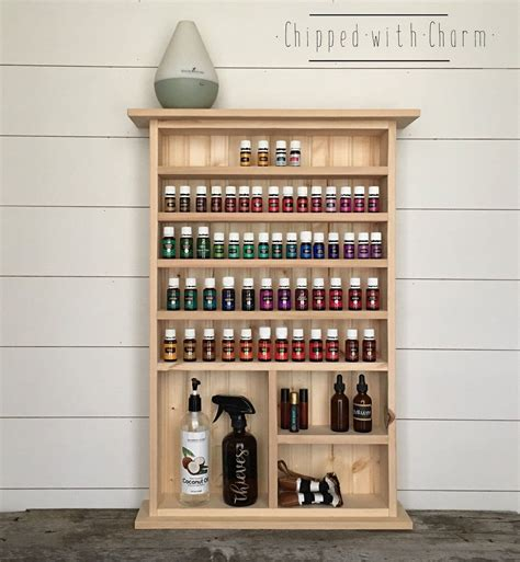 Diy-Essential-Oil-Shelf-Plans