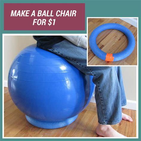 Diy-Exercise-Ball-Chair-Base