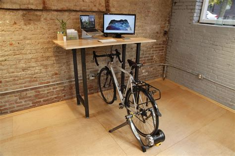 Diy-Exercise-Bike-Desk