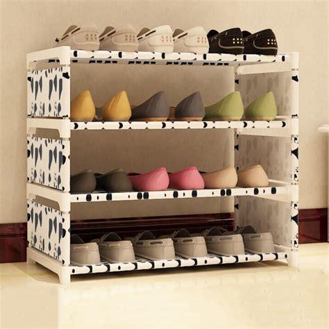 Diy-Fabric-Shoe-Rack