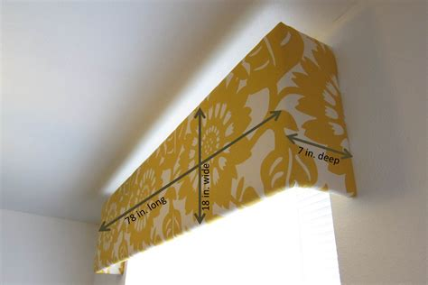 Diy-Fabric-Window-Cornice-Box