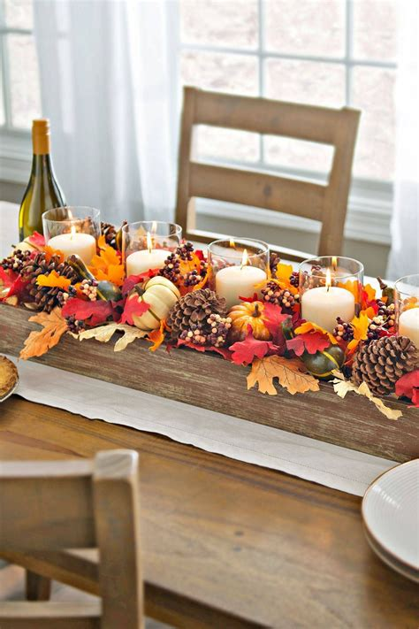 Diy-Fall-Centerpiece-For-Dining-Table