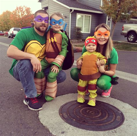 Diy-Family-Ninja-Turtle-Costumes