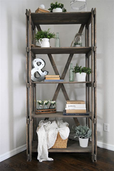 Diy-Farmhouse-Style-Bookshelf
