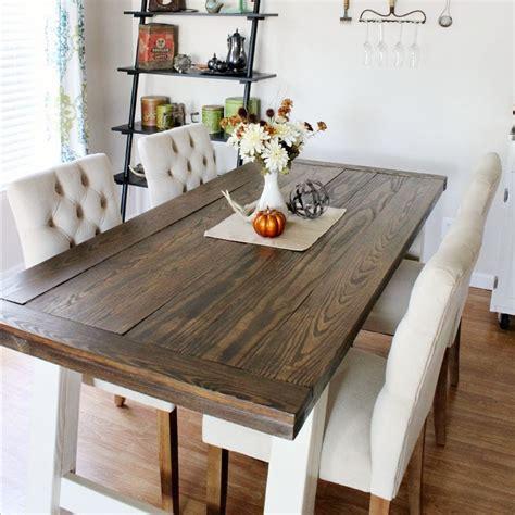 Diy-Farmhouse-Style-Dining-Table