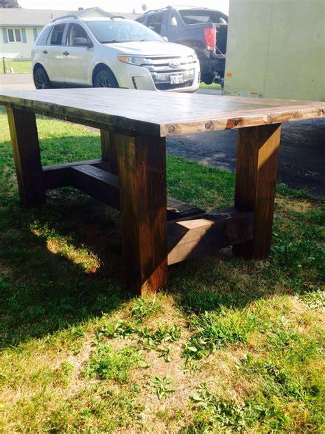 Diy-Farmhouse-Table-6x6-Post-Legs