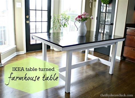 Diy-Farmhouse-Table-Ikea