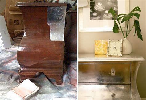 Diy-Faux-Silver-Leaf-Furniture