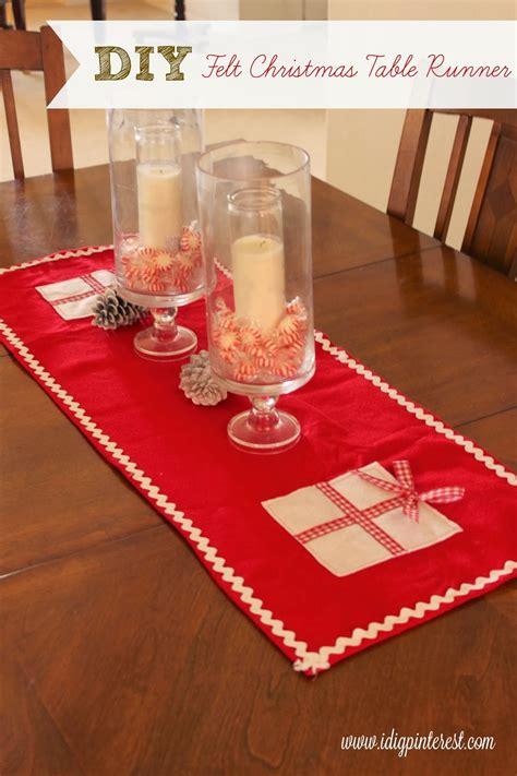 Diy-Felt-Christmas-Table-Runner