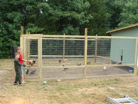 Diy-Fencing-In-Chicken-Coop