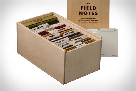 Diy-Field-Notes-Box