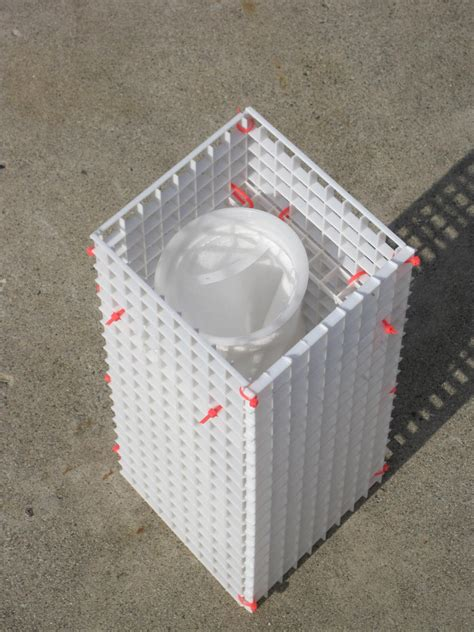 Diy-Filter-Sock-Holder-Made-With-Egg-Crate