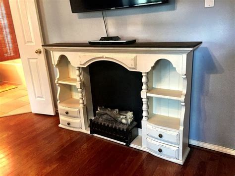 Diy-Fireplace-Dresser