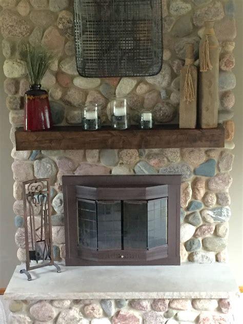 Diy-Fireplace-Mantel-Shelf-Distressed-Antique-White