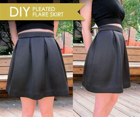 Diy-Flared-Skirt