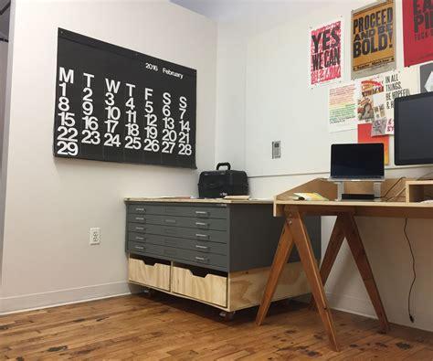 Diy-Flat-File-Cabinet