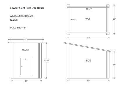 Diy-Flat-Roof-Dog-House-Plans