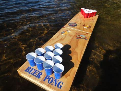 Diy-Floating-Beer-Pong-Table