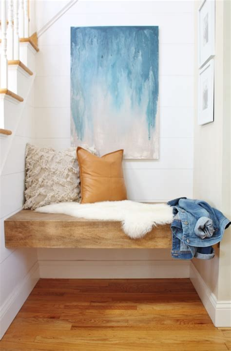 Diy-Floating-Bench-Seat