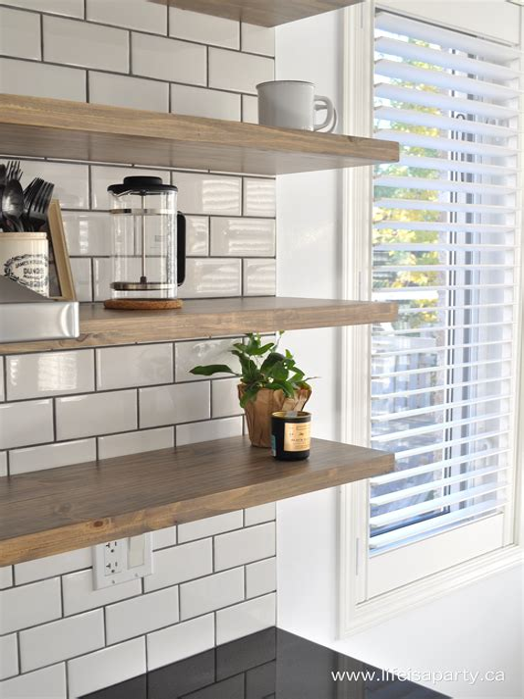 Diy-Floating-Kitchen-Shelves