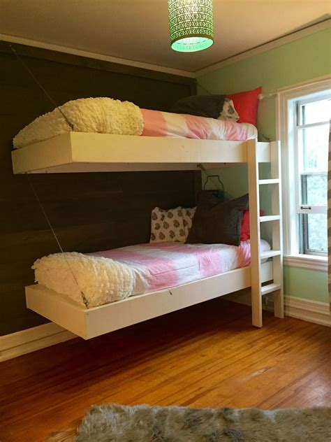 Diy-Floating-Loft-Bed-Plans