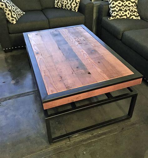 Diy-Floating-Top-Steel-Coffee-Table