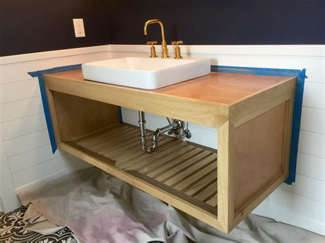 Diy-Floating-Vanity-With-Drawers