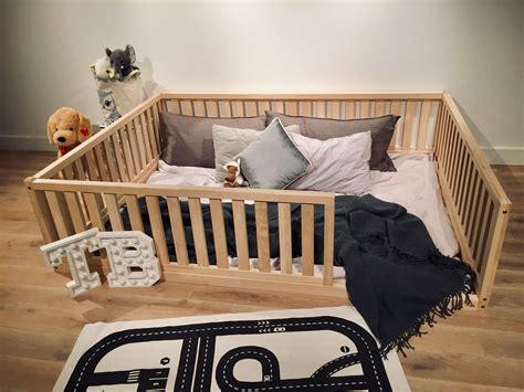 Diy-Floor-Bed-Frame-Toddler