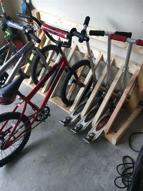Diy-Floor-Bike-Rack